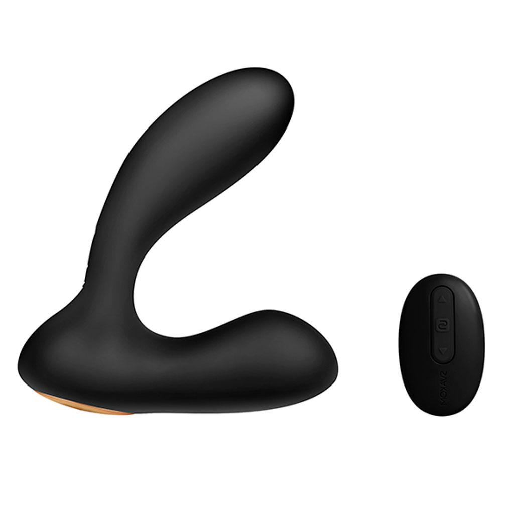 Svakom – Vick Krachtige Anaal & G-Spot Vibrator Zwart