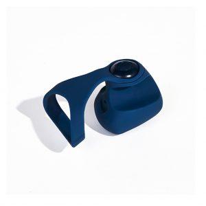 dame fin vinger vibrator blauw
