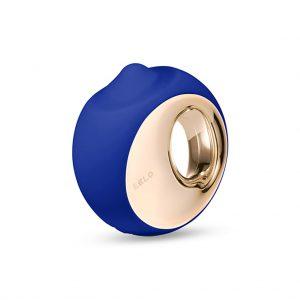 lelo ora 3 tong vibrator blauw
