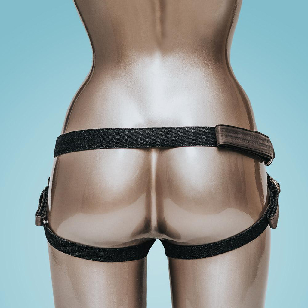 harnas strap-on voorbind dildo fun factory