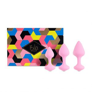 FeelzToys - Bibi Butt Plug Set 3 st. Roze