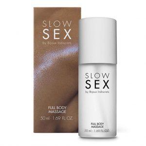 BIJOUX INDISCRETS - SLOW SEX Massage & Glijmiddel siliconen