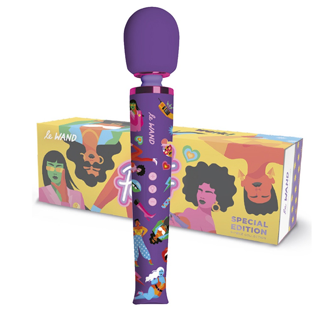 LE WAND – Feel My Power Jade Purple Brown Limited Edition