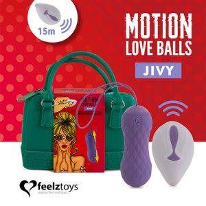 Feelztoys jivy loveballs afstandbedienbaar